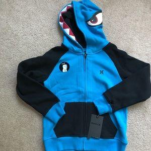 Boys small Hurley hoodie NWT